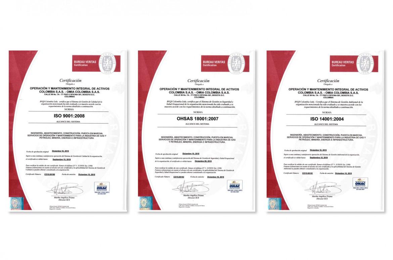 Certificación del Sistema de Gestión Integrado-SGI